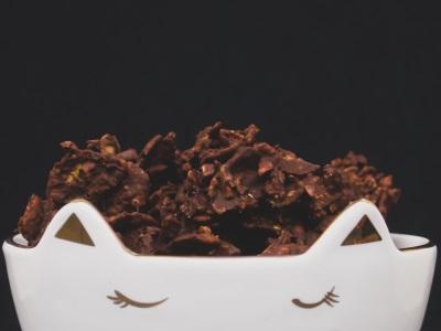 Vegane Schoko Crossies aus nur 3 Zutaten