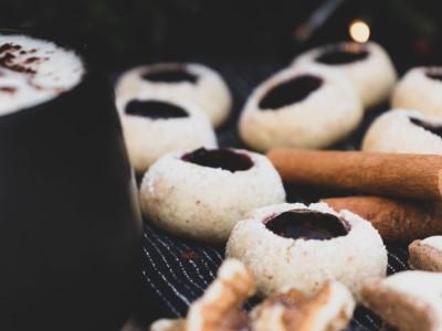 Vegane Husarenkrapfen mit Marmelade