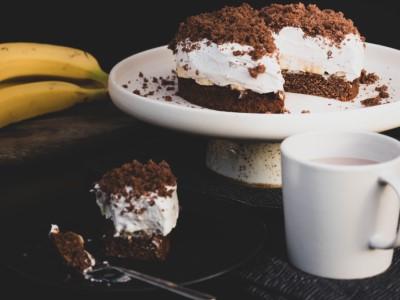 Veganer Maulwurfkuchen mit Kakao